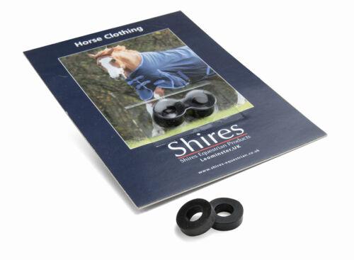 Shires rechange surfaix caoutchouc anneaux empêcher surfaix clips coming undone