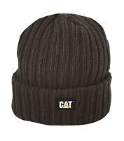 Caterpillar Men's Rib Watch Cap Black One Size Free Shipping