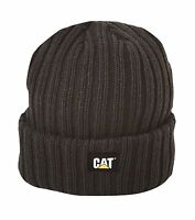 Caterpillar Men's Rib Watch Cap Black One Size Free Shipping