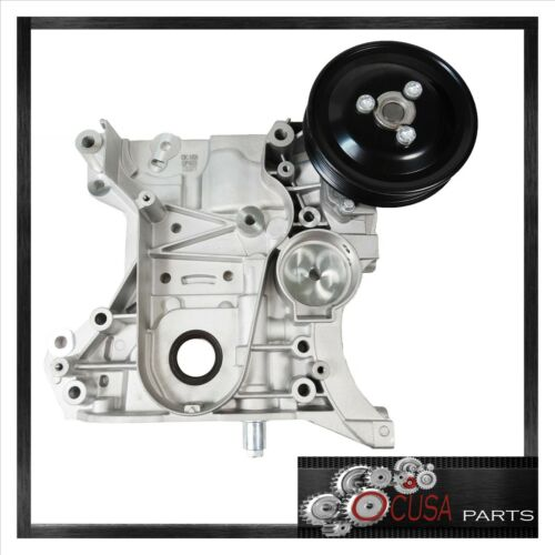 WP FRONT ENGINE COVER with /& OIL PUMP /& PULLEY for CHEVROLET CRUZ 11-15 1.8L