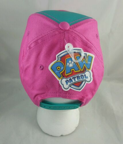 Paw Patrol Hat Pink Girl Pup Power Snapback NEW USA