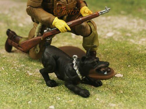 Hood Hounds Hund ROTTWEILER Dog 1/18 GI Joe Tortenfigur Spielzeug Figur K1285 B4