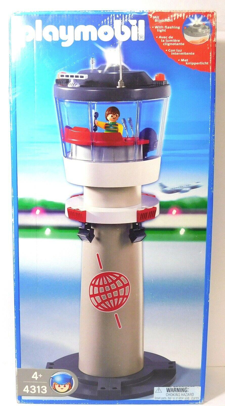 Playmobil 4313 Airport Control Tower NY Pensionerad