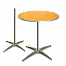 36 Round Bistro Table Heavy Duty Adjustable Height Cocktail Event Party Table