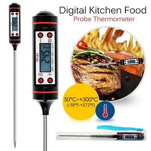Details about LCD Cooking Food Meat Probe Kitchen BBQ Water Thermometers  Temperature Test Kits