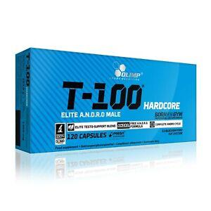 OLIMP T-100 Hardcore 120 Caps STRONG TESTOSTERONE TESTO BOOSTER
