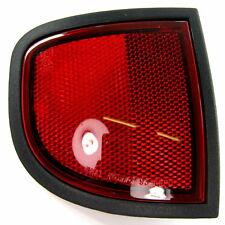 Chrome rear reflector trims for Mitsubishi L200 pickup Animal truck reflecter