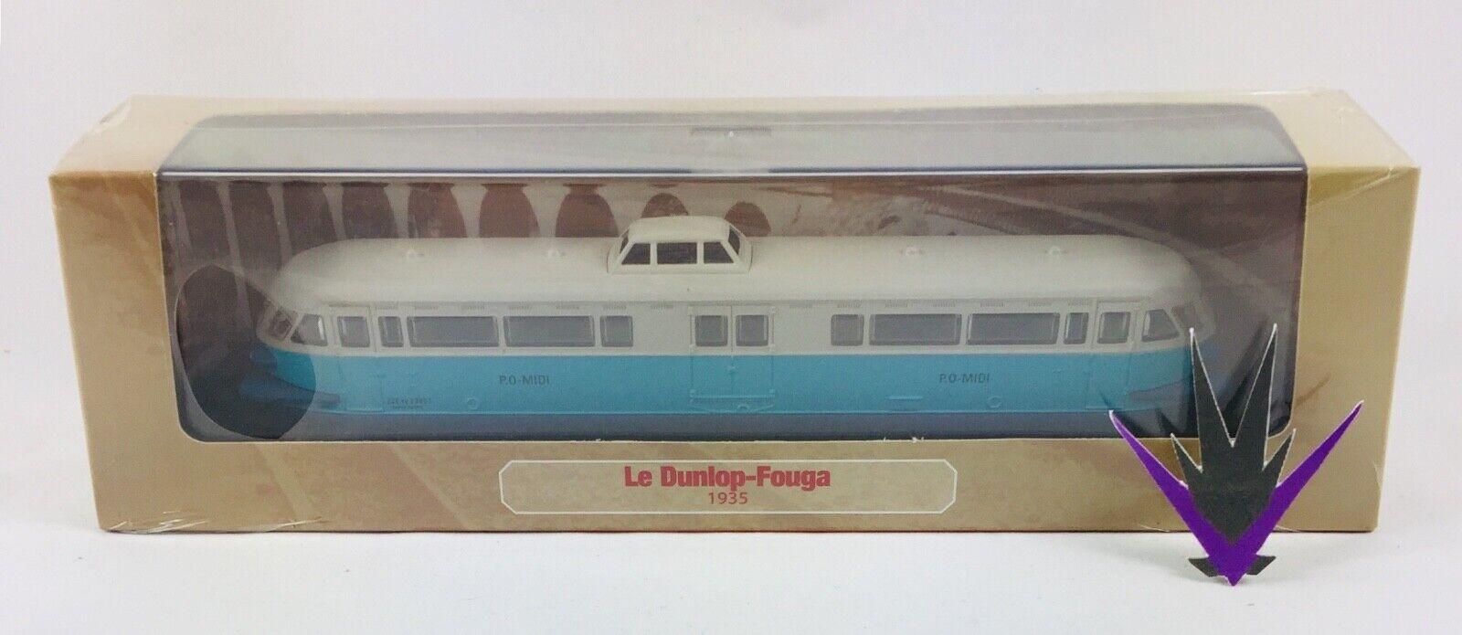 Atlas autorail micheline & oh 1 87 railcar dunlop-Fouga