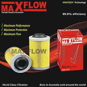 Maxflow-Oil-Filter-suit-Holden-Commodore-Ute-VE-VZ-V6-3-6-Oil-Filter-X-5-R2605P
