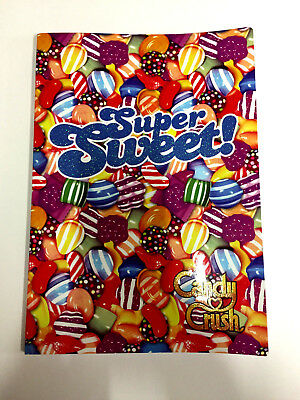 King Candy Crush Maxi Quadernone Qualità Superiore Con Glitter