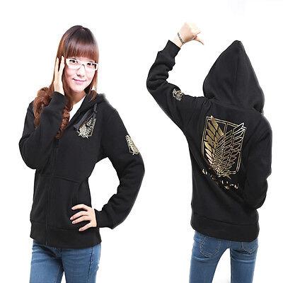 Hoodie Sweater Coat Cosplay Attack on Titan Shingeki no Kyojin Scouting Legion