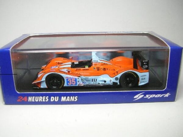Oak Pescarolo-Judd No. 35 lmp2 LEMANS 2011