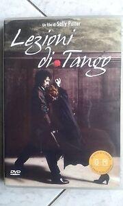 LEZIONI-DI-TANGO-1997-Sally-Potter-DVD-RARO-FC-OOP-Juan-Pablo-Veron-Ed-Vendita