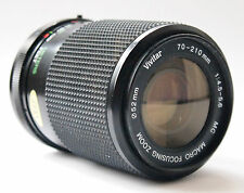 Vivitar 70-210 f/4.5-5.6 PKA mount lens.