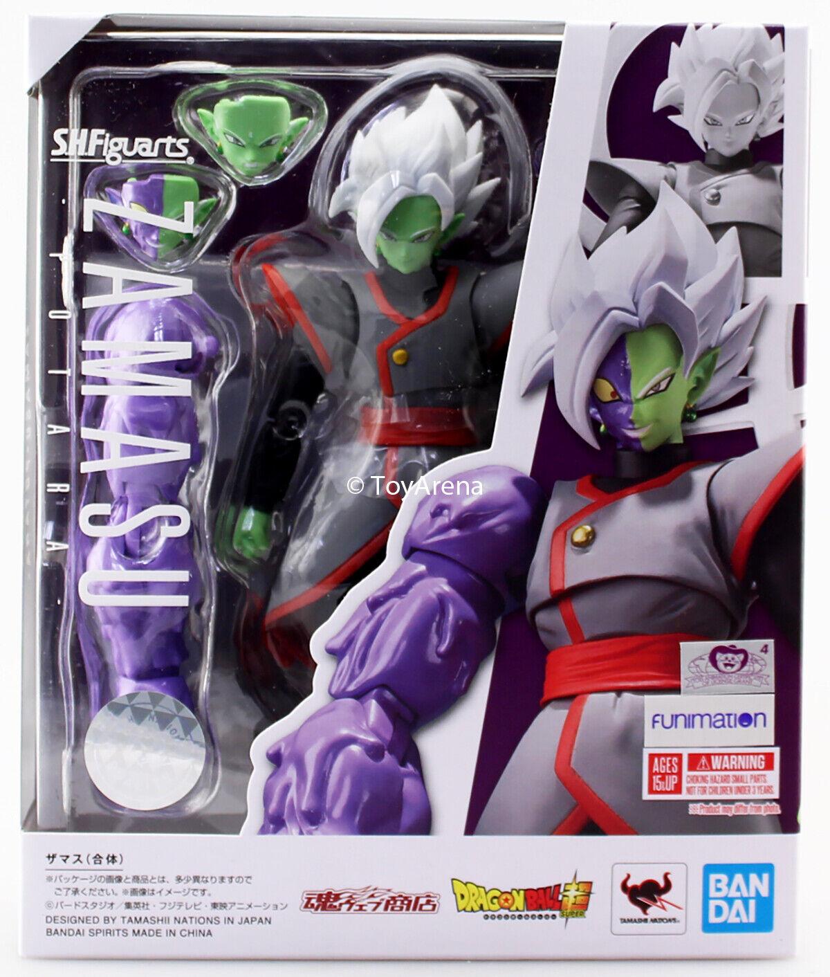 S.H. Figuarts Dragon Ball Super Zamasu Fused Potara Ver. Wirkung Figure IN STOCK