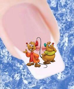 20-Nail-Tattoos-Disney-Cinderella-Maus-949-Nail-Sticker-Wasserbasis-Nailart