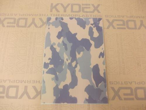 PL 2 mm Kydex T foglio 297 x 210 nominale a secco Woodland Camo su Julep