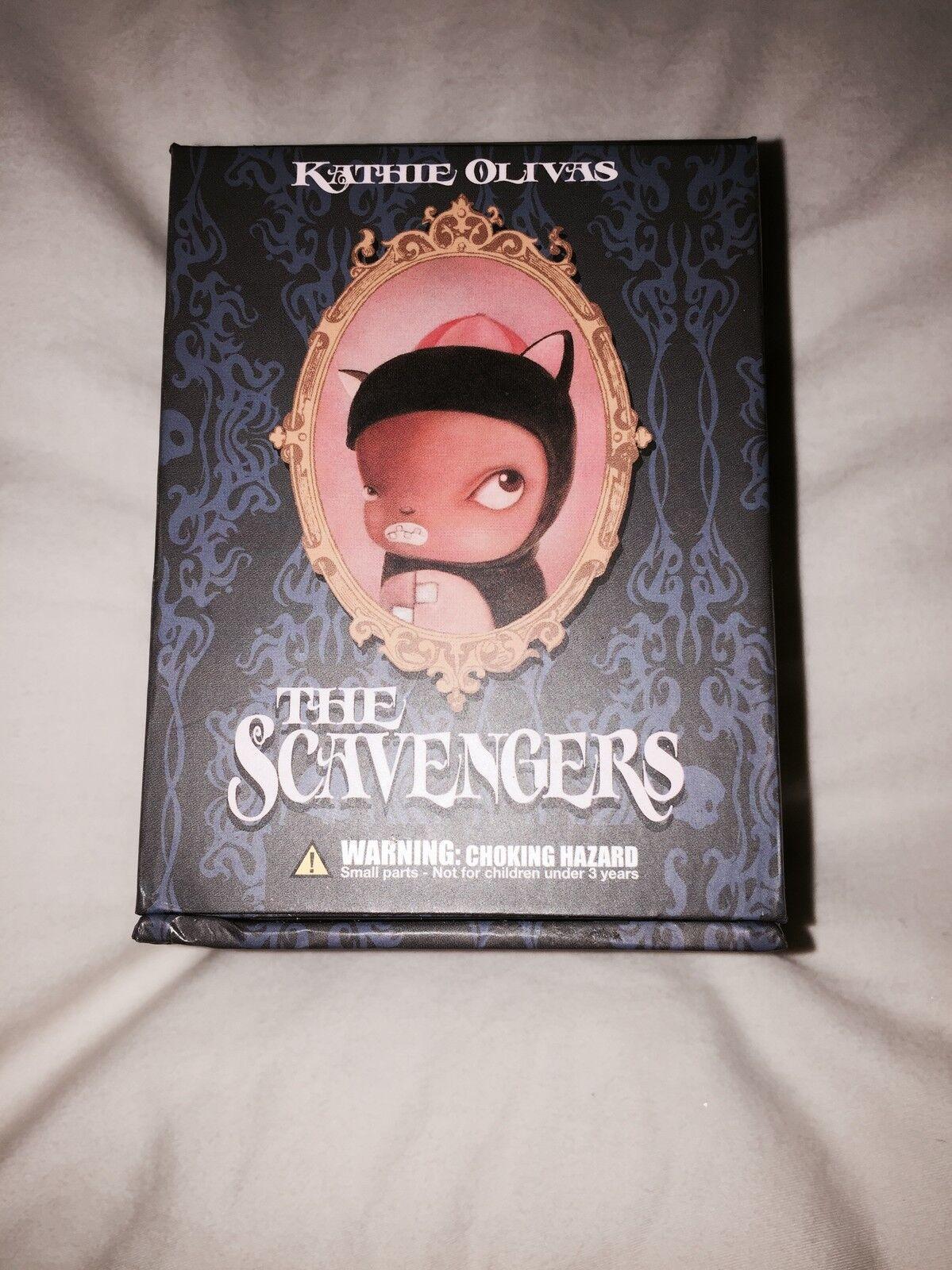 Kathie Olivas Olivas Olivas The Scavengers Series 1 Blind scatola 2c7867