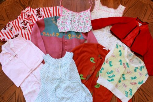 Lot Vintage 40s 50s 60s Mid Century Girls Crop Top
