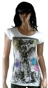 Wow Chemise tunique tunique Ikons longue ange longue gothique noir amplifiᄄᆭ avec OPkiZXwTlu
