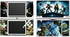 nintendo NDSi DSi original  - TMNT - TURTLES - 4 Piece Sticker Skin UK