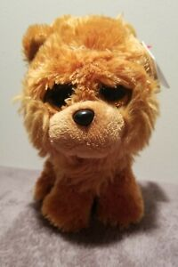 Ty Beanie Boos - BARLEY the Chow Chow Dog (6 Inch) NEW - MINT with tag's. CUTE