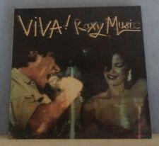 ROXY MUSIC Viva! Roxy Music 1976 UK vinyl LP EXCELLENT CONDITION original live