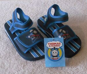 5e10c6df46536 Details about NWT Thomas & Friends Infant Boys Sport Sandals 5/6 Navy  MSRP$15