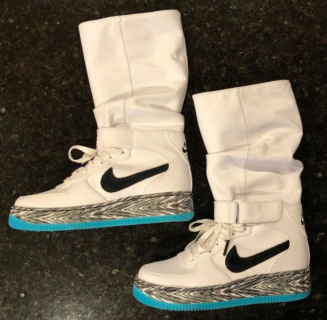 the latest 9a765 316d2 NEW Nike Air Force 1 Upstep Warrior N7 Women's 7 White shoes ...