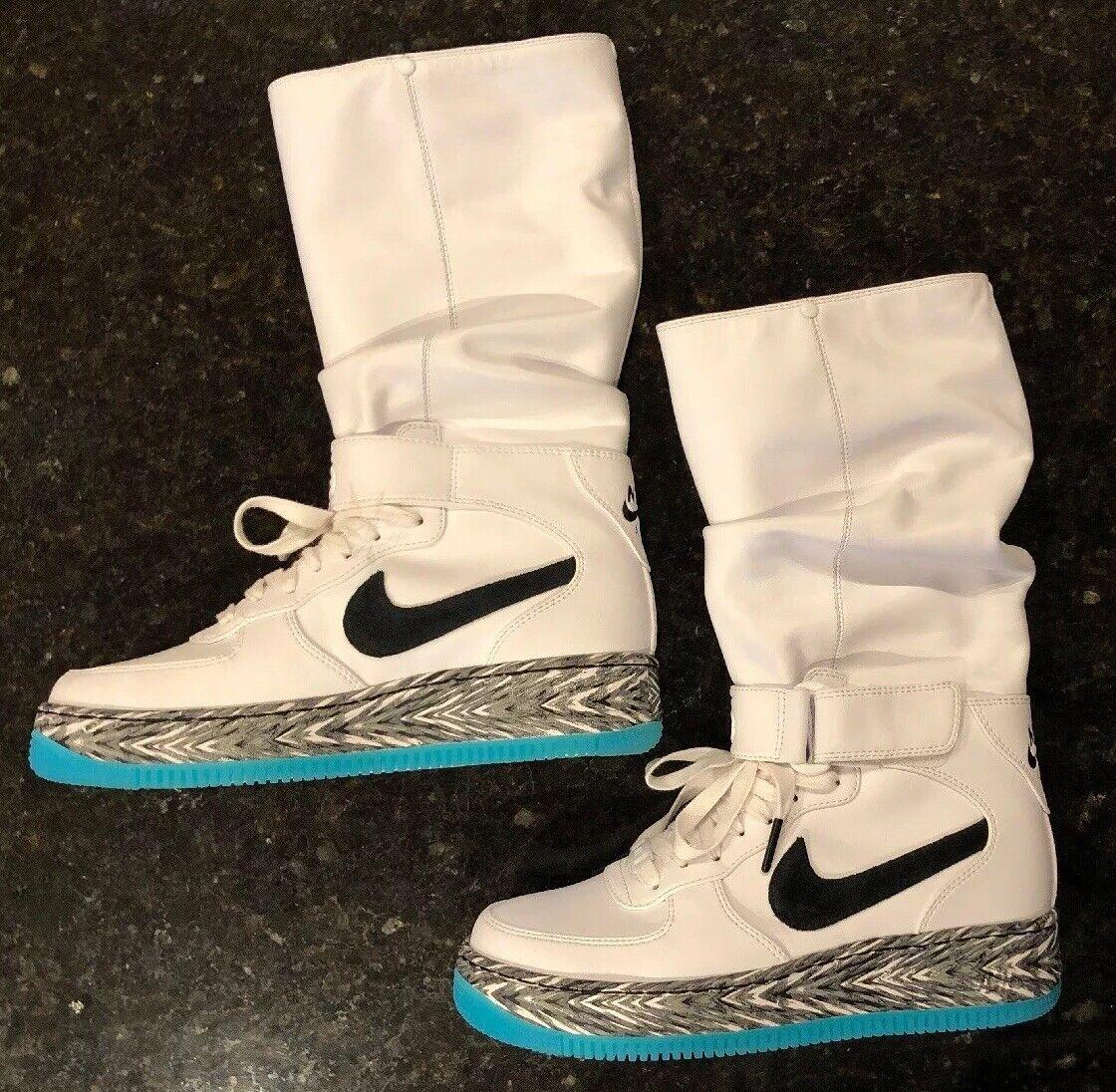 New  Looksee Nike Air Force 1 Upstep Warrior N7 Donne 65533;7 Nuovi Scarpe Bianche  migliore vendita