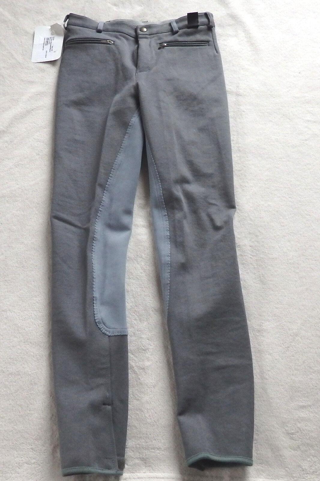 Kyron Kinder Reithose, 3 4 Vollbesatz, grey,Gr 164,  (025)