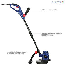 Qualtex 500W AC Electric Garden Grass Strimmer Trimmer Telescopic Edge Cutter