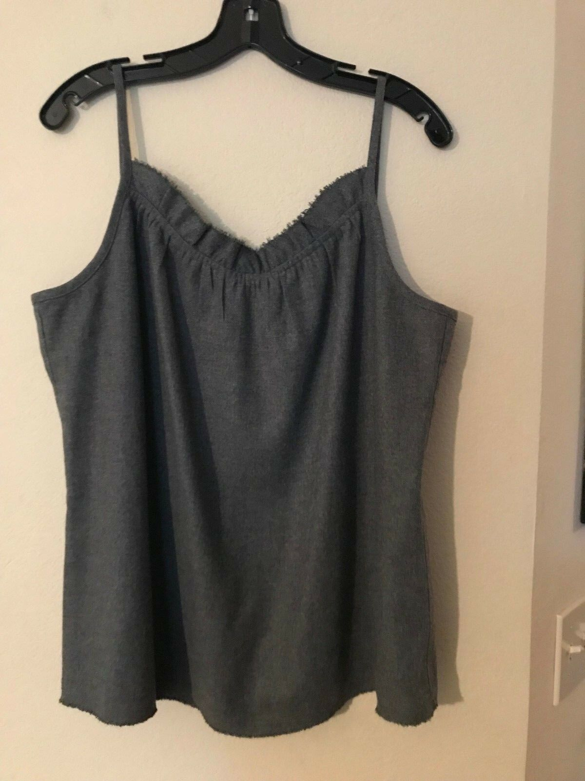 Eileen Fisher wool tank top, size Large