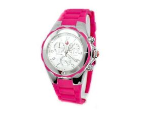 New-In-Box-Michele-Tahitian-Jelly-Bean-Pink-Womens-Watch-MWW12F000042