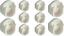 White-Rail-End-Supports-Brackets-for-Oval-Wardrobe-Rails-Poles-15-x-25-x-30mm thumbnail 6