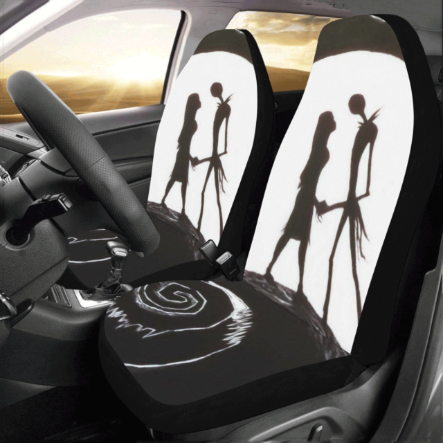 Universal Fit The Nightmare Before Christmas Car Seat Cover Protector Set of 2