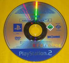 RATCHET & CLANK 2 Ps2 Versione Promo Europea gioco completo e and »»» SOLO DISCO