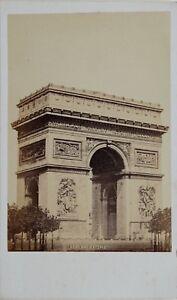 Paris Arc De Triomphe L Etoile Carte