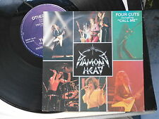 "DIAMOND HEAD-""FOUR CUTS"" EP NWOBHM,7"" +12"" original vinyl singles.Excellent !!"