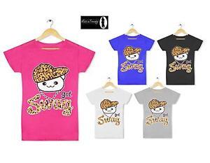 Girls Ladies Got Swag Hat Dope Top T Shirt Hype Long Boss Urban Hip