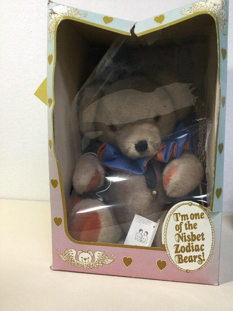 """14"""" Nisbet Bear From The Zodiac Collection """"Gemini"""" No. 5253 5253 5253 (2nd) 4c1eea"""