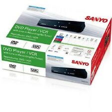 Sanyo FWDV225F Combination DVD / CD VHS VCR Player Line in Recording Remote