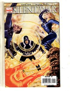 Silent-War-Complete-Marvel-Comics-LTD-Series-1-1-2-3-4-5-6-Inhumans-Bolt-MF10