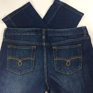 American Rag Womens 11S 11 Short Blue Jeans Curvy Skinny Medium Wash EUC