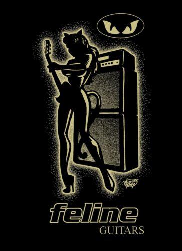 Vince Ray design T rex Electric Warrior Feline Guitars