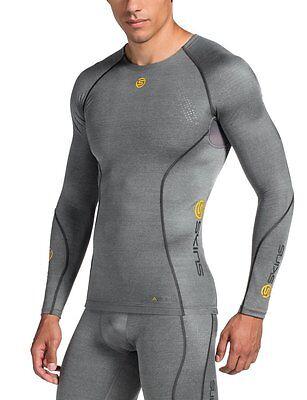 Skins Men's A200 Long Sleeve Compression Top