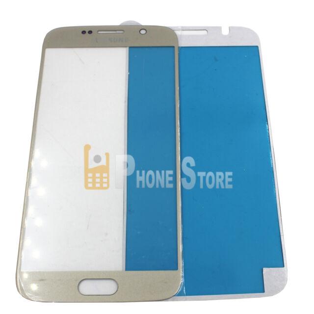 2X Samsung Galaxy S6 LCD Display Glas Scheibe TOUCHSCREEN S6 SM-G920F GOLD