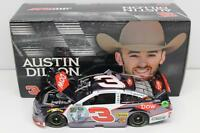 2016 Austin Dillon 3 Dow 1:24 Color Chrome Diecast 72 Made In Stock