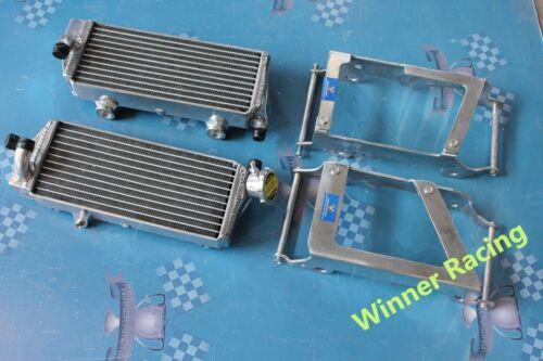 Aluminum Radiator/&Guards for KTM 125//144//150//200//250//300 SX//SXS//XC//XC-W 2008-09