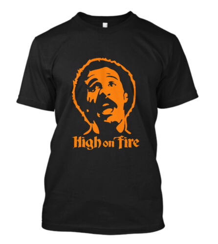 New High On Fire aggravation Japon Band T-Shirt Noir Taille S-5XL